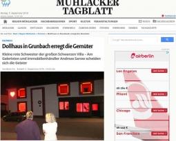 Mühlacker Tagblatt vom 02.09.2015 >> DOLLHAUS Grunbach <<